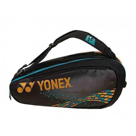 Yonex Pro Tennistasche schwarz-camelgold