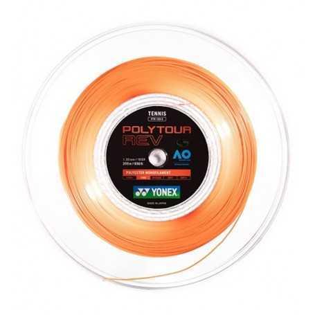 Yonex Poly Tour Rev Rolle 200m 1,25mm bright-orange