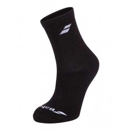 Babolat Socken lang 3er schwarz