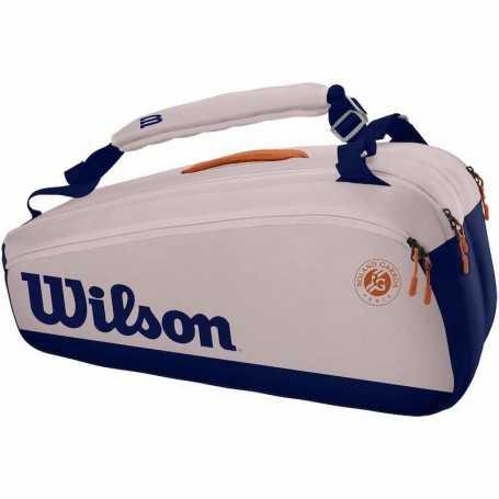 Wilson Roland Garros Premium 9PK Tennistasche 2021 pink-navy