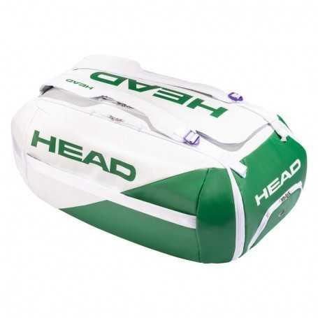 Head White Proplayer Duffle Tennistasche 2021 weiss-grün