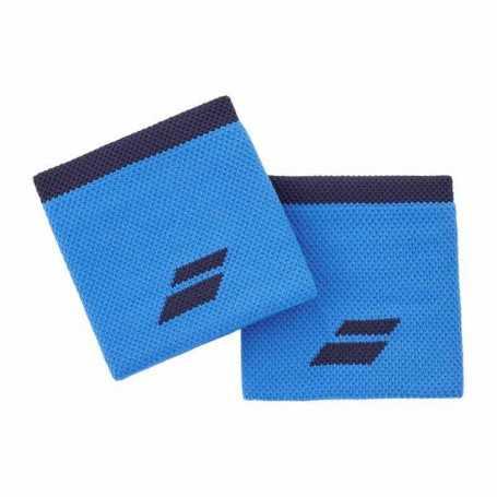 Babolat Schweissband kurz 2er blau-schwarz