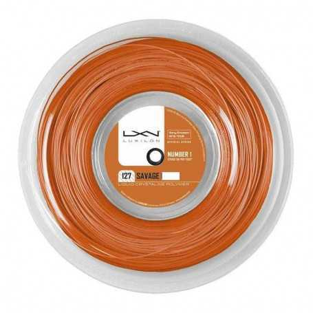 Luxilon Savage Rolle 200m 1,27mm orange