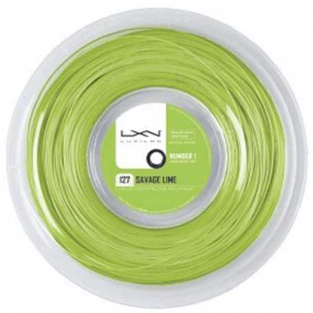 Luxilon Savage Rolle 200m 1,27mm lime