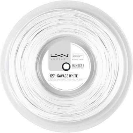 Luxilon Savage Rolle 200m 1,27mm weiss