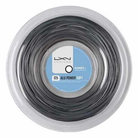Luxilon Alu Power Soft Rolle 200m 1,25mm silber