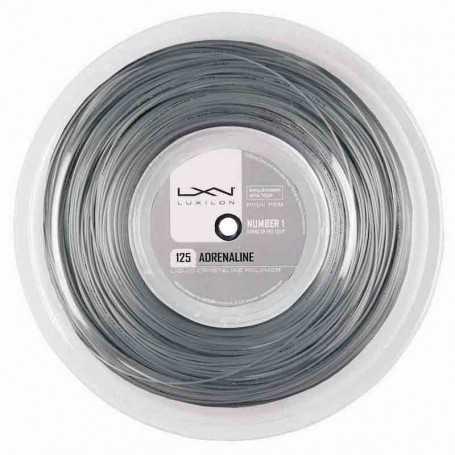 Luxilon Adrenaline Rolle 200m 1,25mm grau