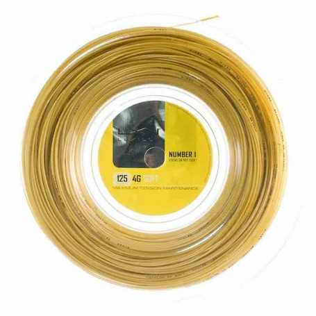 Luxilon 4G Soft Rolle 200m 1,25mm gold