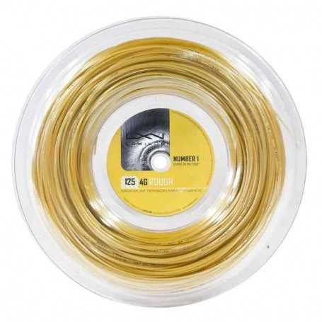 Luxilon 4G Rough Rolle 200m 1,25mm gold