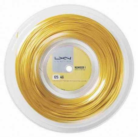 Luxilon 4G Rolle 200m 1,25mm gold