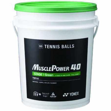 Yonex Muscle Power 40 Ball Eimer