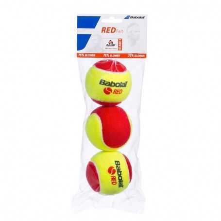 Babolat Red Felt X3 Ball Beutel