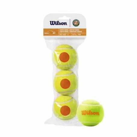 Wilson Roland Garros Orange 3 Ball Beutel