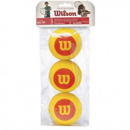 Wilson Starter Foam Red 3 Ball Beutel